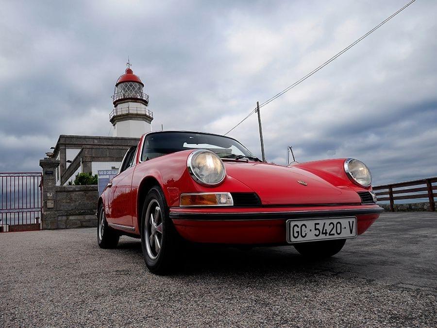 Un clásico a prueba: el Porsche 911 Targa 2.2 T de 1969