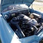 El motor de doble carburador rendía 110 CV.