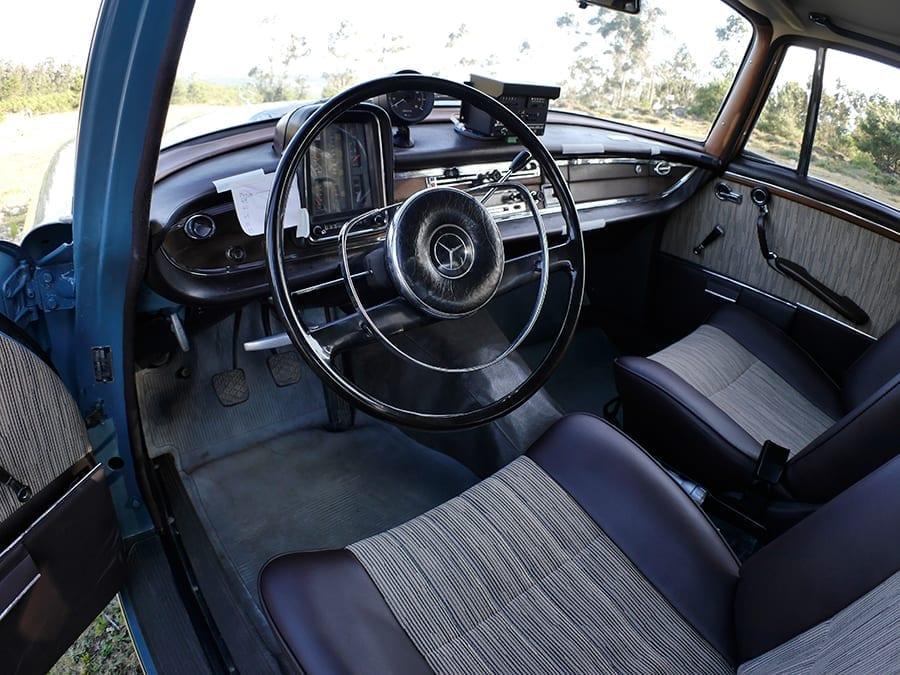 Mercedes W111 220 S 1960 Montecarlo