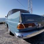 Las colas del W111 le dieron su apodo en España.