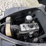 La mecánica del Peugeot 203 es muy sencilla, pero bien fabricada.