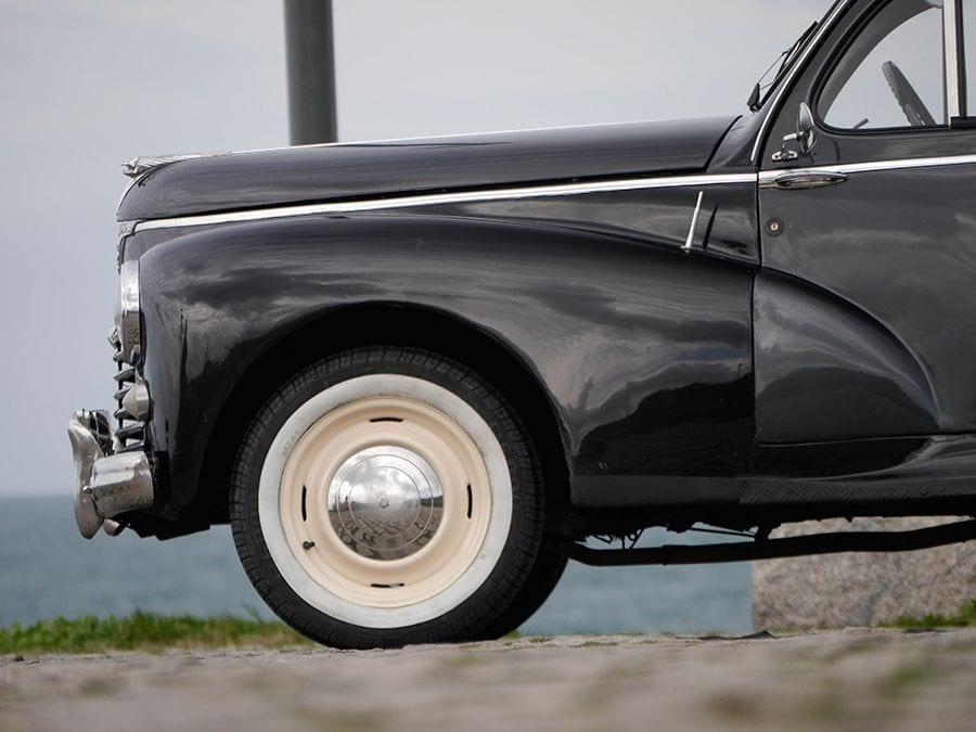 El Peugeot de la prueba de hoy está en un estado bastante original, pero con matices.
