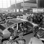 Citroën CX en el Salón de París de 1974