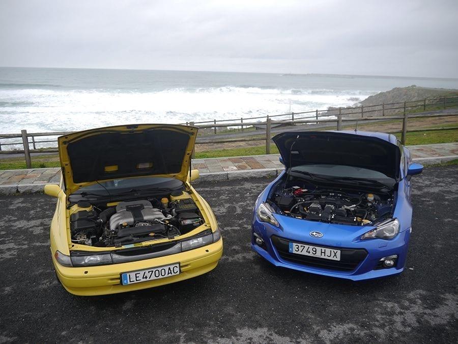 Estos dos modelos de Subaru comparten la configuración de su mecánica.