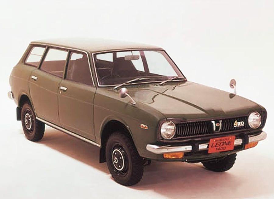 El Subaru Leone 4x4 fue el primer Subaru con motor bóxer y tracción total.