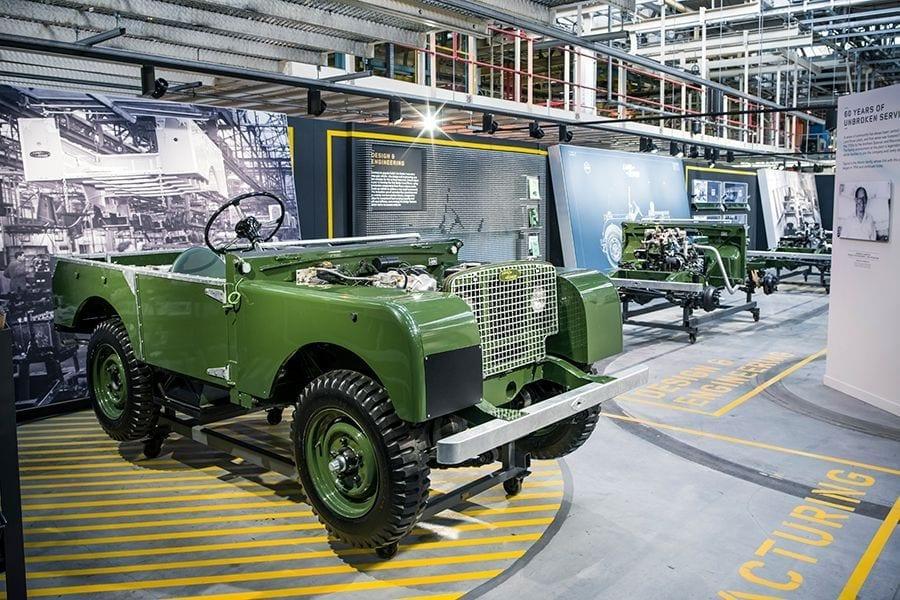 66 años Land Rover Defender