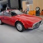 Este modelo de los años 70 tiene un diseño también de Zagato.