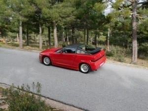 Este coche es una gozada en las carreteras de montaña.