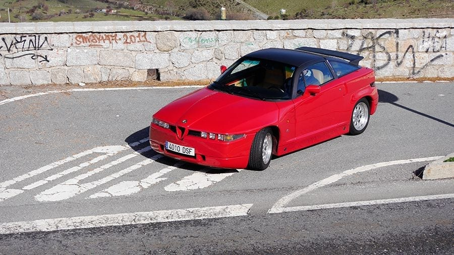 Alfa Romeo SZ el Zagato de Robert Opron