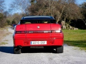 La parte trasera recuerda a la del Subaru XT