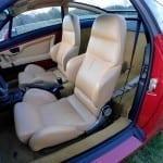 Los asientos son cómodos y sujetan a la perfección.