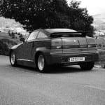 El SZ es un coche muy radical.