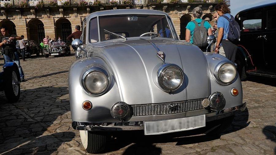 El Tatra T87 era un coche muy moderno en 1936.