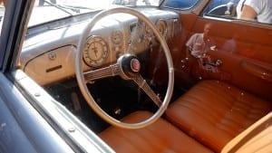 El interior era lujoso en el T87.