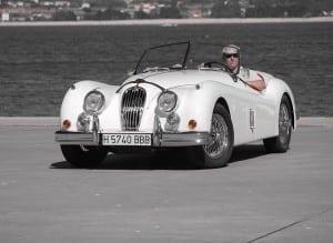 Prueba Jaguar XK 140 SE 1955