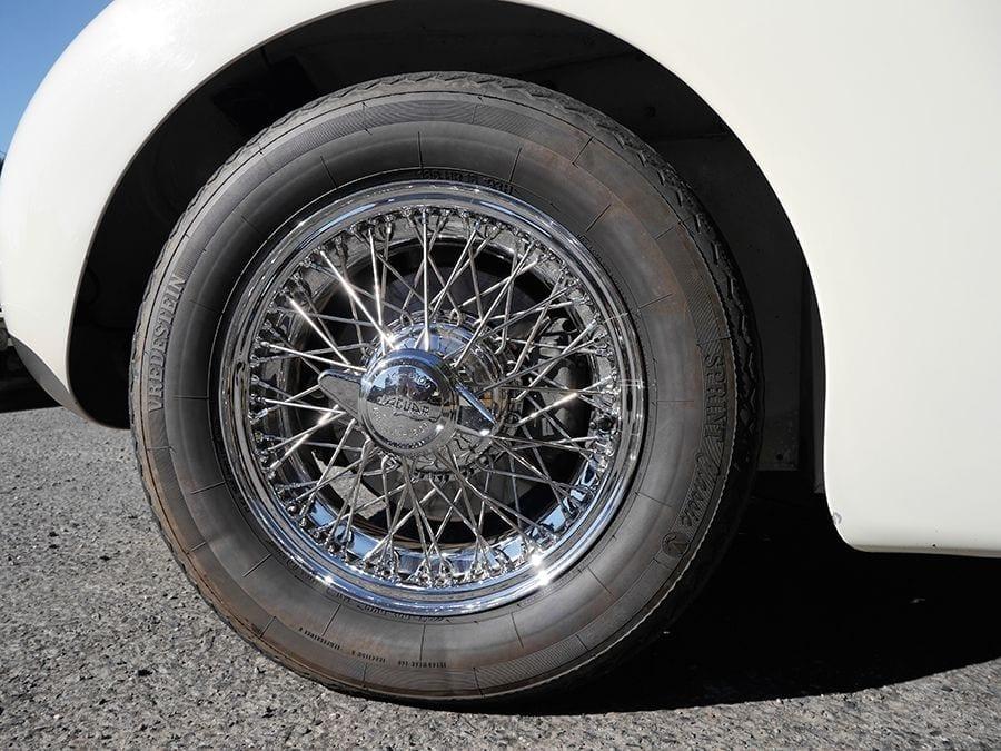 Los frenos de disco fueron una revolución creada por Dunlop para Jaguar.