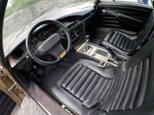 El diseño del interior sigue siendo moderno después de 45 años.