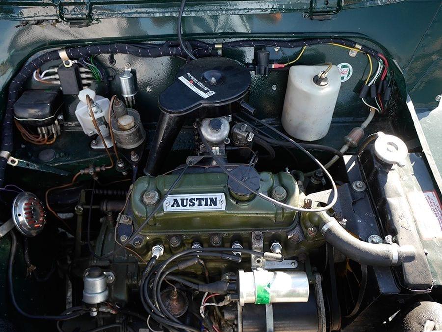 El motor tiene que mover poco peso.