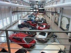 El museo de Saab en Trollhattan es lo único que queda de la emblemática marca sueca.