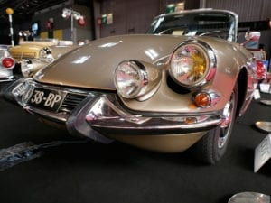 5- This Citroën DS 21 convertible was more exciting than most models showcased at the show