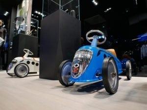 Este coche para niños estaba en el stand de Peugeot del Salón de París 2016... y no eligieron un 5008.