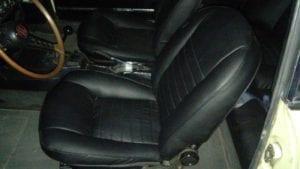 Los asientos están recién retapizados.