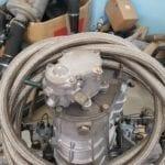 Nuevas mangueras para el radiador de aceite.