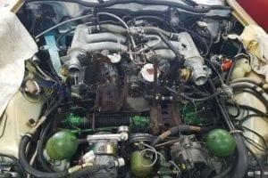 El motor vuelve a a lucir como nuevo.
