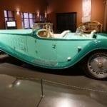 Esta joya es en realidad una réplica del Bugatti Tip 41 Royale.