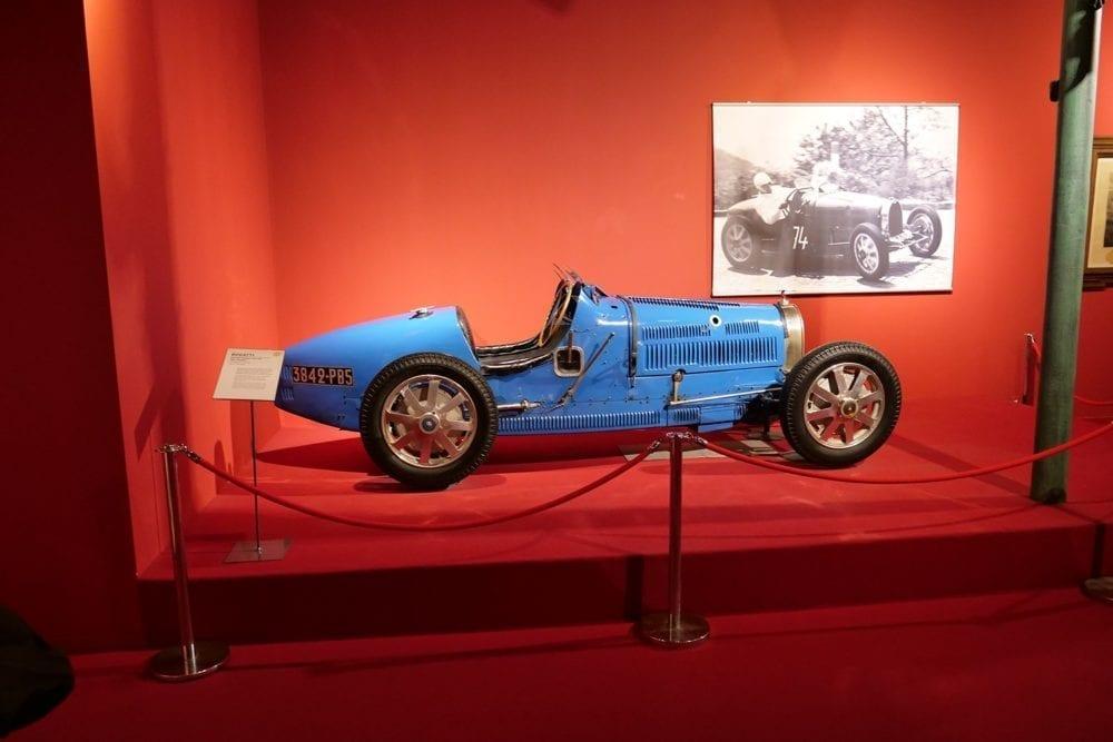 Con este Bugatti 35b empezó todo.