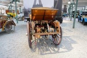 Uno de los primeros Benz de la historia.