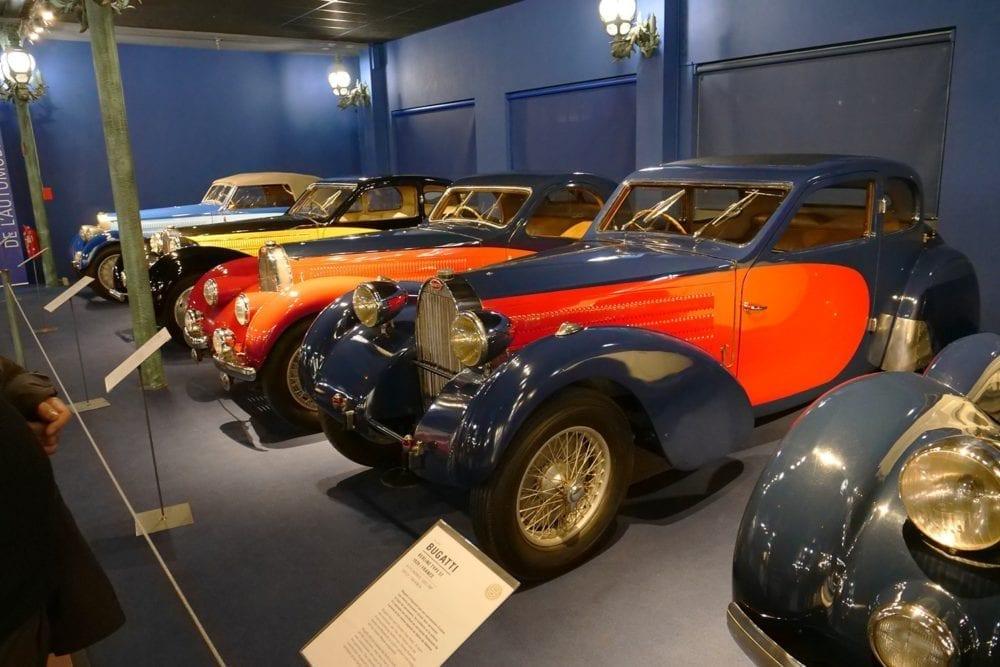Fritz Schlumpf acaparó la mayor colección de Bugatti del mundo, con más de un centenar de ejemplares.