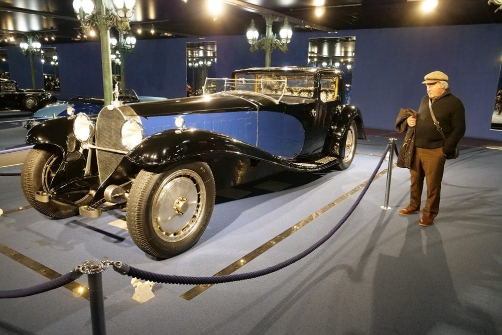 Este formidable automóvil perteneció al propio Ettore Bugatti.