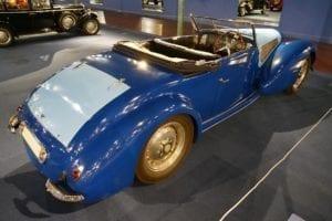 Uno de los últimos Bugatti.