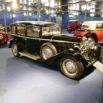 Las llantas de Bugatti eran muy características.