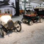 Dos ejemplares de los Bugatti más pequeños.