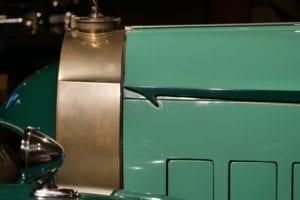 Cada detalle de la carrocería del Royale es exquisito.