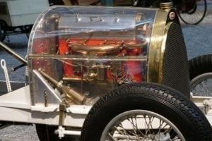 Los motores eran bellos.