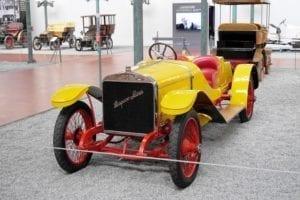Este coche conoció a Alfonso XIII.