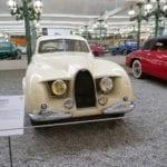 UNo de los últimos diseños de Bugatti.
