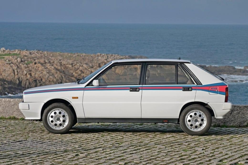 Historia del Lancia Delta HF