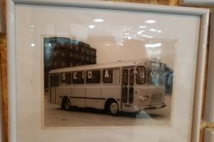 En la Nave 108 se fabricaron autobuses Seida.