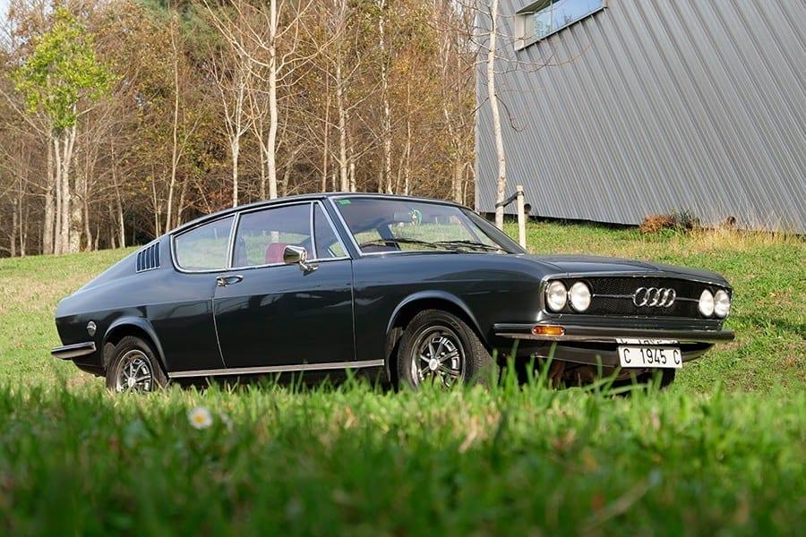 Audi 100 Coupé S de 1973: el renacer de Audi