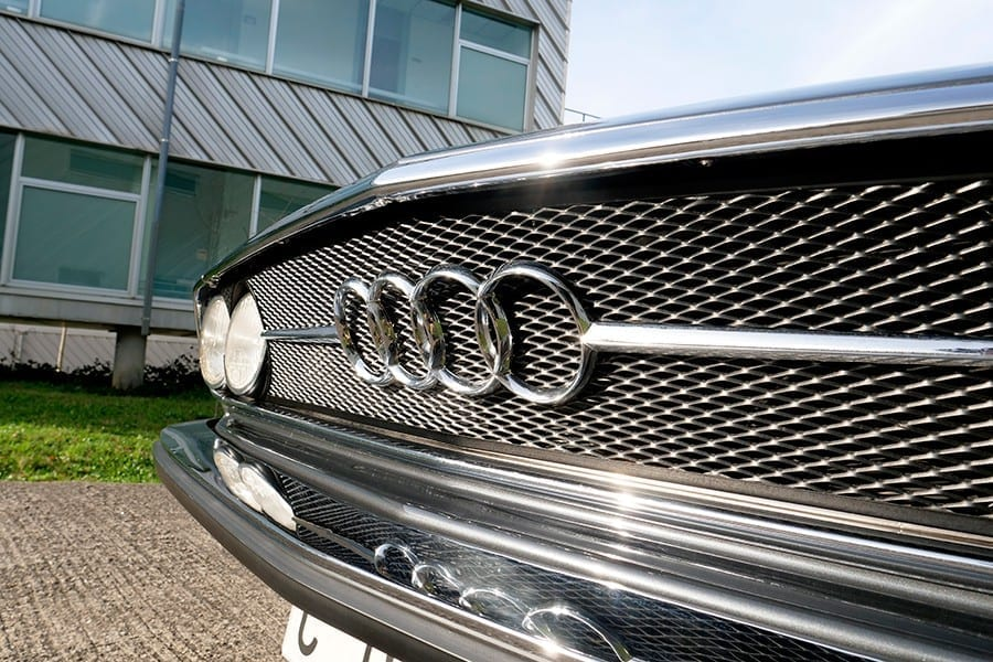 Los cuatro aros que presiden los frontales de Audi son un vestigio de su pasado en Auto Unión.