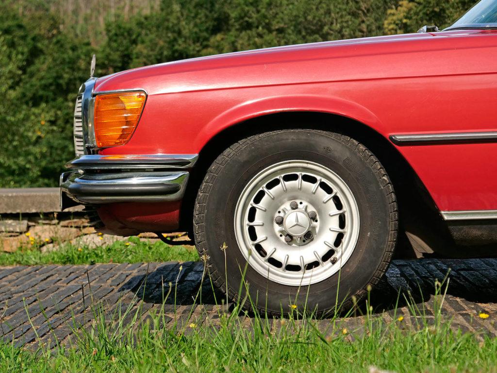 El diseñador de los W116 empezó en Mercedes nada menos que con los 540 K.