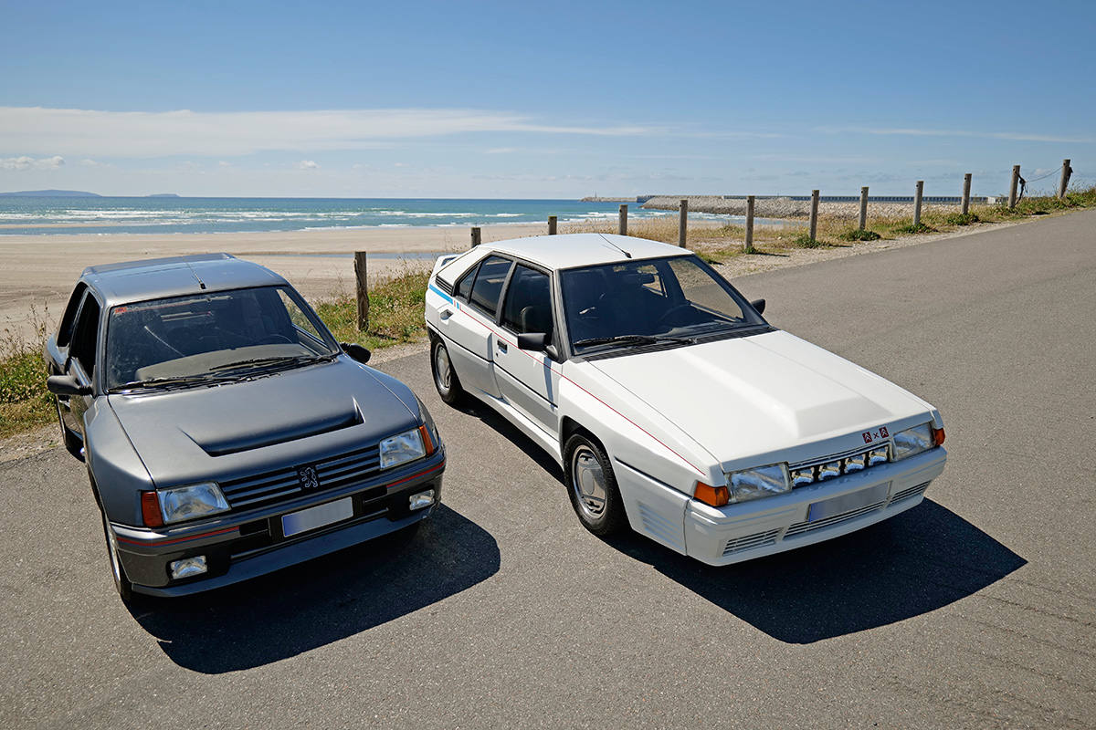 Citroen BX 4TC vs Peugeot 205 Turbo 16 Rubén Fidalgo (7)
